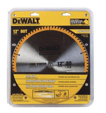 Dewalt DW3128 12 inch 80T Fine Finish Circular Saw Blade