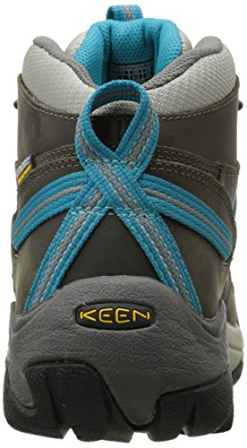 Pictures of KEEN Women's Targhee II Mid Waterproof Gargoyle/Caribbean Sea 8