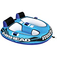 Airhead Mach 2 Inflatable 2-Rider Water Towable Tube