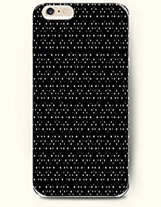 For LG G2 Case Cover Case with of White Spots In Black Background - Polka Dot Series -Authentic Skin