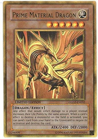 Limited Edit... Prime Material Dragon Yu-Gi-Oh! - Gold Series 2 GLD2-EN032