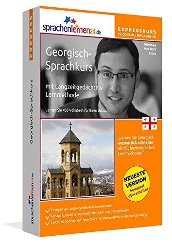 Sprachenlernen24.de Georgisch-Express-Sprachkurs PC CD-ROM für Windows/Linux/Mac OS X + MP3-Audio-CD: Werden Sie in wenigen Tagen fit für Ihre Reise nach Georgien