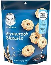Nestlé Gerber Arrowroot Cookies Pouch, 0.16 kilogram