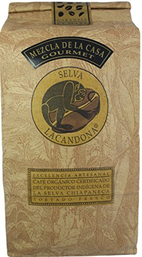 Café La Selva Mexican Chiapas Organic Premium Gourmet Coffee, 18 oz. (Medium Roast / Whole Bean, 18 oz)