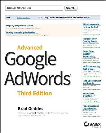 Advanced Google AdWords (English Edition) eBook: Geddes, Brad ...
