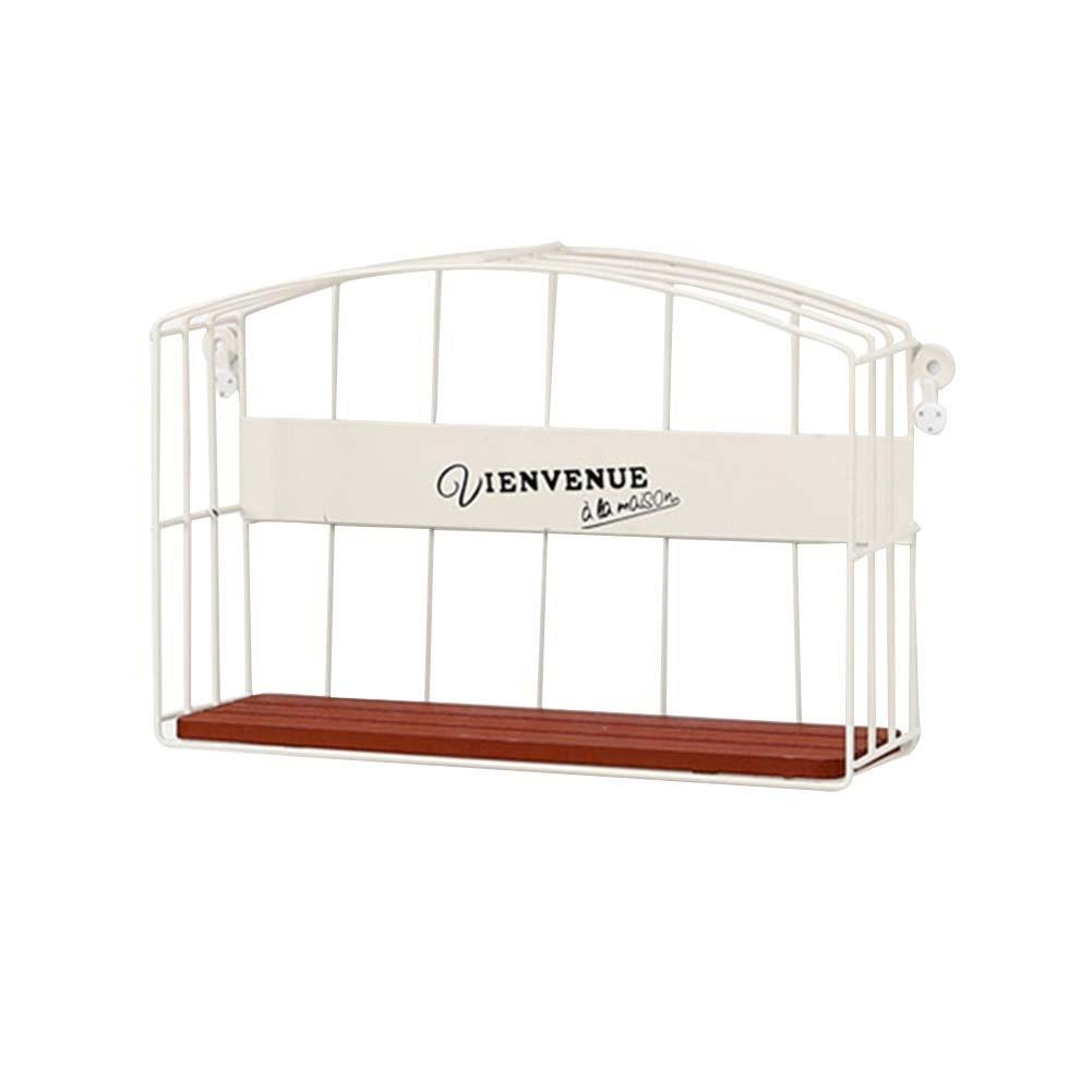 Wall Ornament/Wall Rack Wall Hanging Storage Shelf Wall Hanging Decoration for Living Room Bedroom