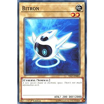 YS17-EN001 - Common 1st Edition 3 x Bitron