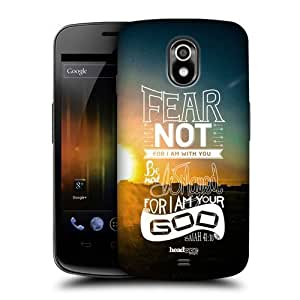 AIYAYA Samsung Case Designs Fear Not Christian Snapshot Protective Snap-on Hard Back Case Cover for Samsung Galaxy Nexus I9250