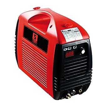 Stamos Germany - S-PLASMA 50 - Cortador plasma CUT 50 - 230V - max. 50 A - ED 60% - Ignición por contacto - 10,7 kg
