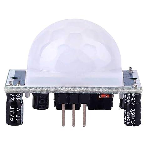 Ociodual HCSR501 Modulo Sensor de Movimiento PIR HC-SR501 para Arduino Detector LHI778: Amazon.es: Electrónica