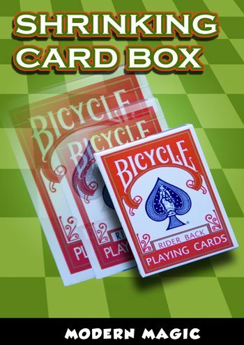 Amazon.com: Shrinking Card Box por la moderna Magic – Trick ...
