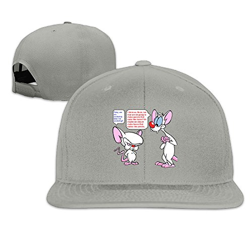 Pinky And The Brain Quotes Printing Baseball Summer Caps