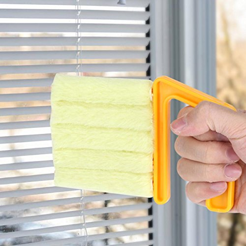 Window-Blind-Air-Conditioning-Vent-Louver-Cleaning-Brush-Kitchen-Window-Clean-Brush-Diagnostic-tool-Magnetic-Cleaner-Orange