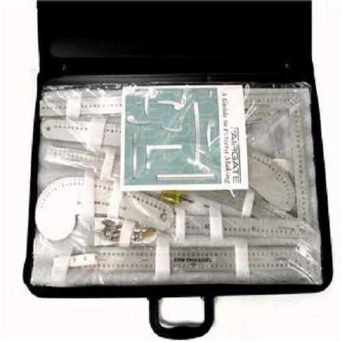 Fairgate 15-200 Fashion Designer's Metric Carryall Ruler Kit