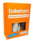 bakebars All-Natural Protein Bar Kit - PB Choc Chip - Includes Pre-Measured, Macro-Friendly Ingredients for 10 Nutrition Bars - Soy, Gluten & Dairy Free - Healthy Snack with Nutrients, Flavor & Fiber