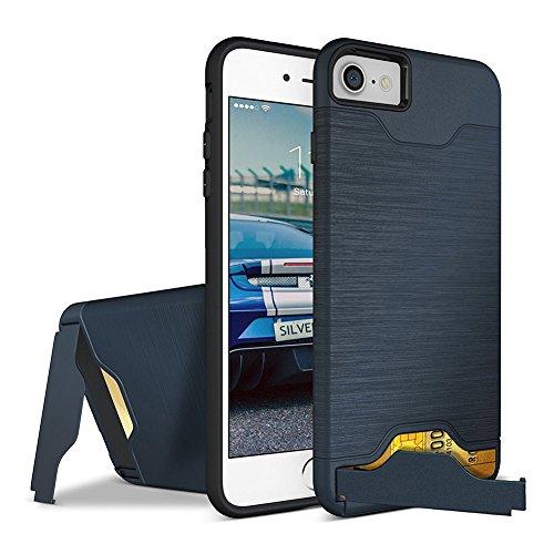 iphone 7 Case, ACMBO Slim hybrid Dual Layer Hard PC + Silicone...