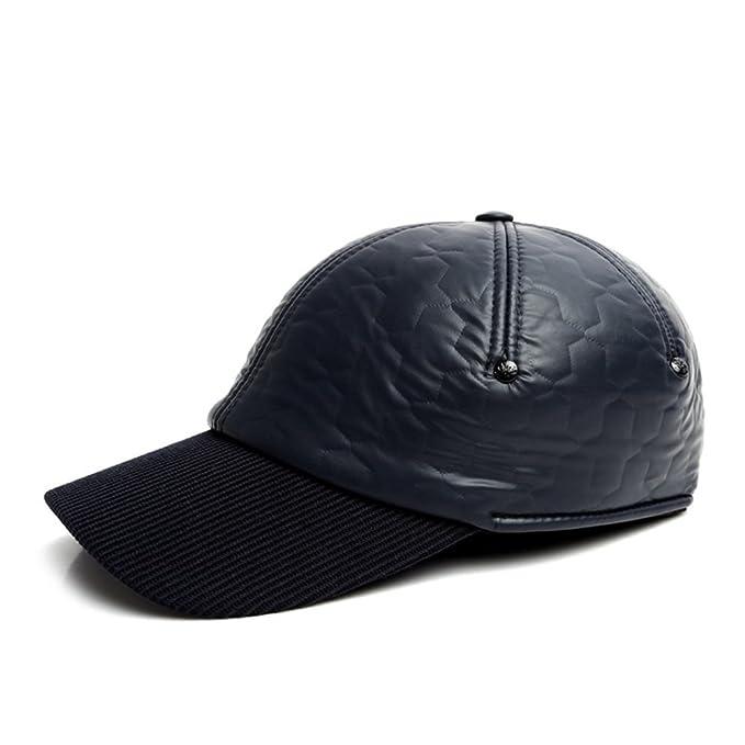 f4c40d45a377a Sombrero de hombre  invierno gorro de lana sombrero de los hombres Casual  gorras en invierno Antiguo sombrero-B ajustable  Amazon.es  Ropa y  accesorios