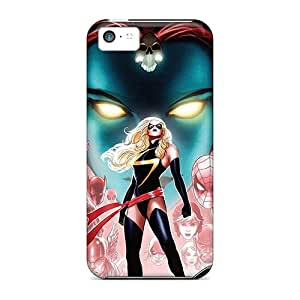 New Miss Marvel Comic Cases Covers, Anti-scratch LWp4775oVSd Phone Cases For Iphone 5c