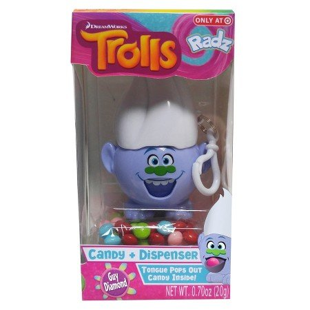 Trolls Exclusive 'Guy Diamond' Candy & Dispenser Easter Basket Stuffer (Guys Easter Basket)