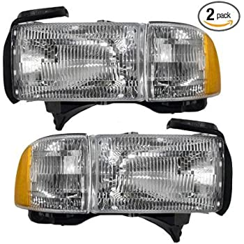 Spec-D Tuning 2LH-CV01-RS Honda Civic 2/4 DR Crystal Headlights Clear Head Lamps