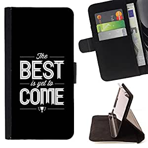 Jordan Colourful Shop - quote black text white best For Apple Iphone 5 / 5S - Leather Case Absorci???¡¯???€????€?????????&