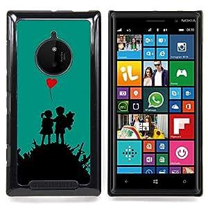 SKCASE Center / Funda Carcasa protectora - Amor Guerra;;;;;;;; - Nokia Lumia 830
