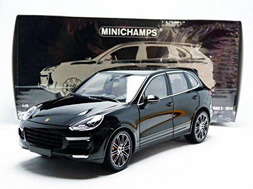 Amazon.com: Minichamps 110064000 1:18 Scale 2014 Porsche Cayenne Turbo S