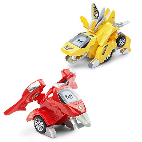 VTech Switch & Go Dinos - Animated Dinos 2-pack with T-Don a