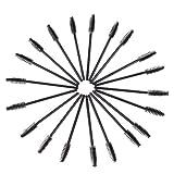 100PCS Disposable Eyelash Brush Mascara Wands Make Up Tool Black