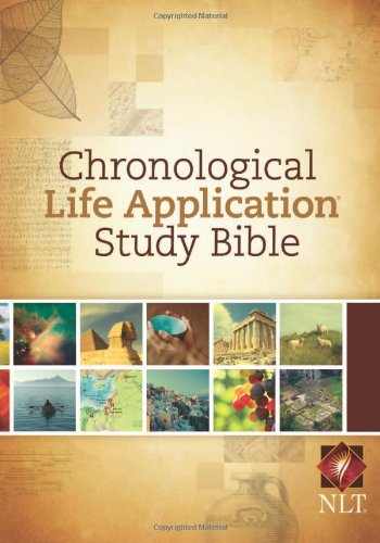 One Year Life - NLT Chronological Life Application Study Bible (Hardcover)