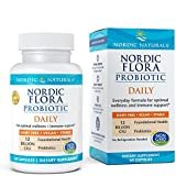 Nordic Naturals Nordic Flora Probiotic - Daily Probiotic for Intestinal Health, Digestion and Immune Health, 60 Soft Gels