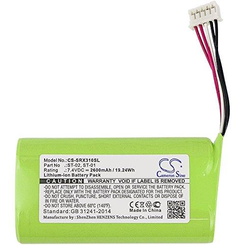 Bateria Para Sony St-01, St-02, Sony Srs-x3  (2600mah)