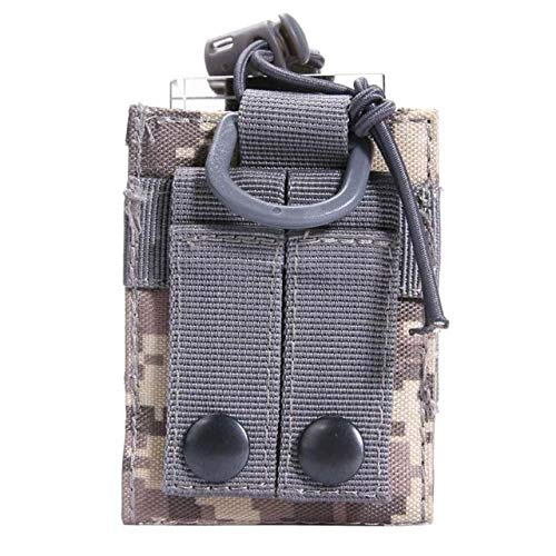 (Ponis-Limos - Outdoor Package Pouch Tactical Sports Pendant Military Molle Nylon Radio Walkie Talkie Holder Bag Magazine Mag Pouch Pocket )