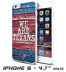 NFL Houston Texan , Cool iPhone 6 plus Inch Smartphone Case Cover Collector iphone TPU Rubber Case White [By PhoneAholic]