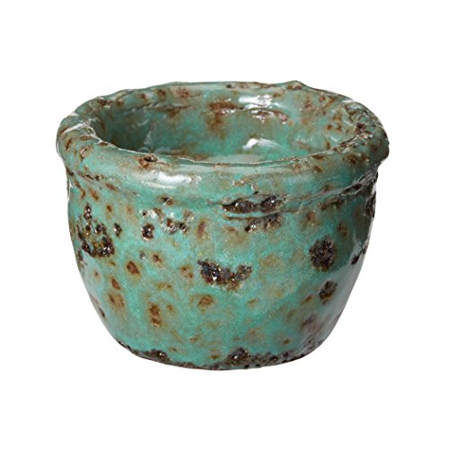 Dimond Home Rustic Jungle Tea Light in Green (Dresser Rustic Green)