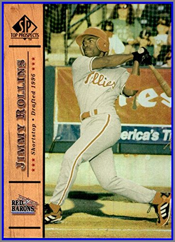 2001 SP Top Prospects #79 Jimmy Rollins SCRANTON WILKES-BARRE RED BARONS PHILADELPHIA - Wilkes Stores Barre In