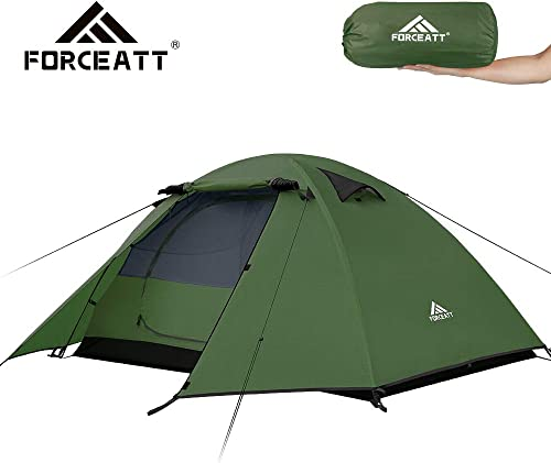 Forceatt 2 Person Camping Tent, Professional Waterproof Windproof Pest Proof. Lightweight Backpacking Tent Suitable for Outdoor and Travel
