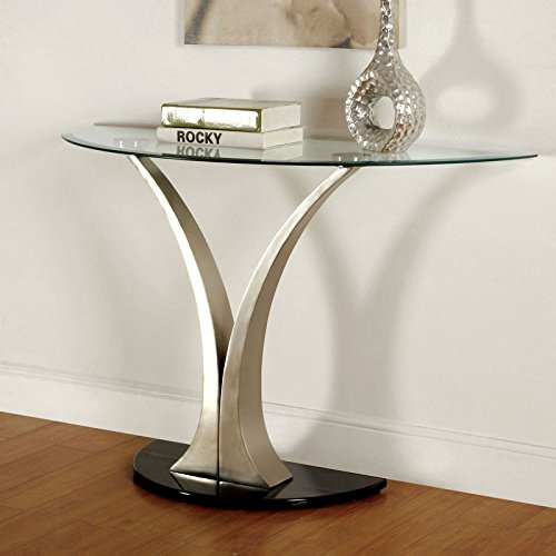 247SHOPATHOME IDF-4727S, Sofa Table, Chrome