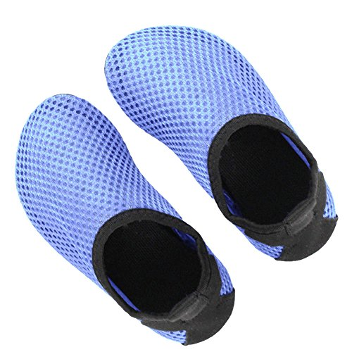 Ultra Lightweight Skin Soft Mesh Parenting Water Shoes Quick Dry Aqua Socks For Diving Swimming