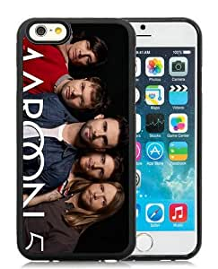 Case For iPhone 6,Maroon 5 Black iPhone 6 (4.7) TPU Case Cover