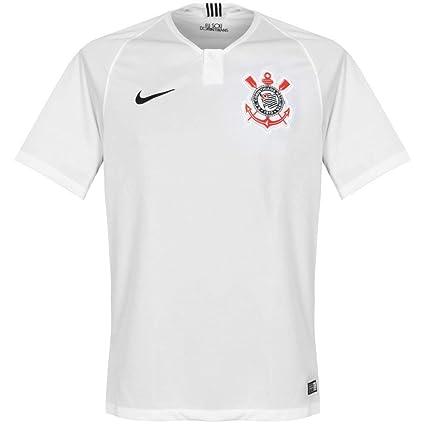 30216ecf75 Nike 2018-2019 Corinthians Home Football Soccer T-Shirt Camiseta  Amazon.es   Deportes y aire libre