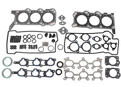 (Head Gasket Set for 99-05 Suzuki Grand Vitara Vitara Chevrolet Tracker 2.5L V6 Engine Code H25A Graphite by Detoti Auto)