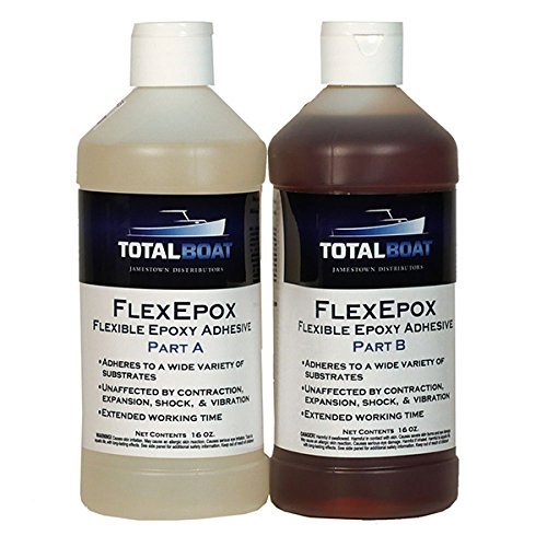 TotalBoat FlexEpox Flexible Epoxy Adhesive (32 Ounce) by TotalBoat