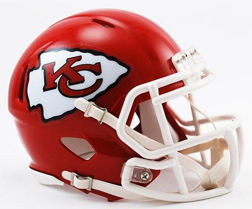 Kansas City Chiefs Riddell Revolution Speed Mini Football Helmet
