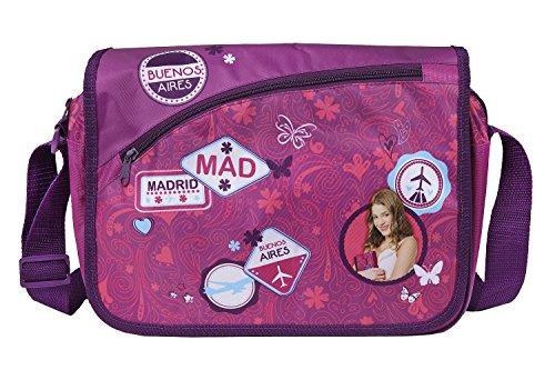 Undercover 10105562 Umhängetasche, Schultertasche Violetta, 38 x 29 x 10 cm, mehrfarbig