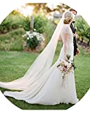 Kyпить Anmor 2T Tulle Sheer Long Wedding Bridal Veils 2M Bridal Veil with Comb Off White на Amazon.com