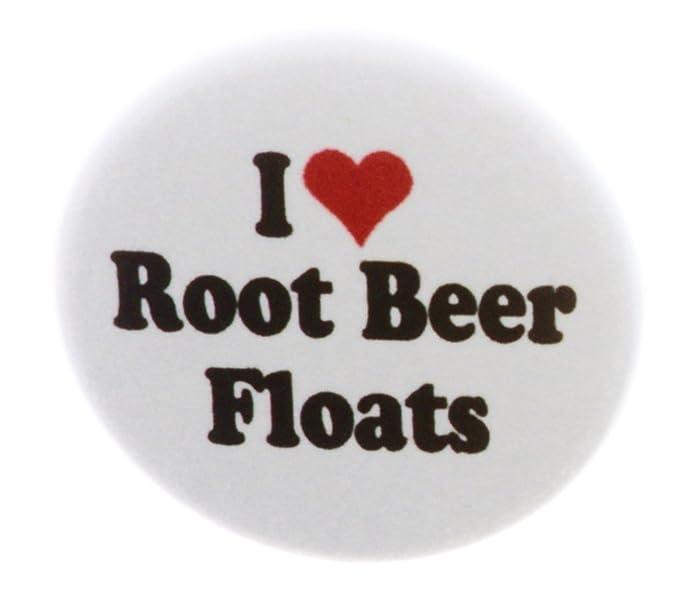 Amazon.com: A & T diseños I Love Root Beer Floats 2.25 ...