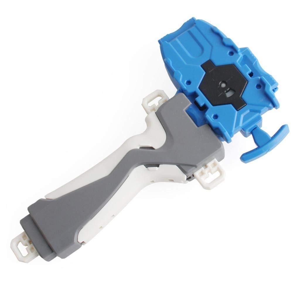 Kavcent Bey Battling String Launcher Grip.Right Spin! The Third Generation Battling Top Burst Starter String Launcher Bey Battling Top Franchise!(Blue)
