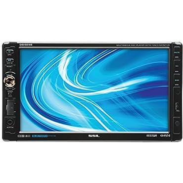 Soundstorm DD889B 7 Bluetooth TouchScreen 2 Din DVD/CD Player Receiver