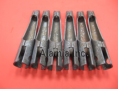 6- Aerator Core Tines,Fits Bluebird,Husqvarna Replaces # 7572 Fits Tow Behind Aerators Only